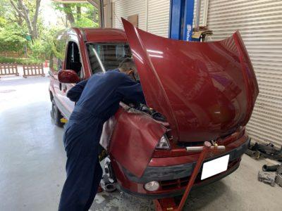 ルノーカングー(GH-KCK4M)車検整備