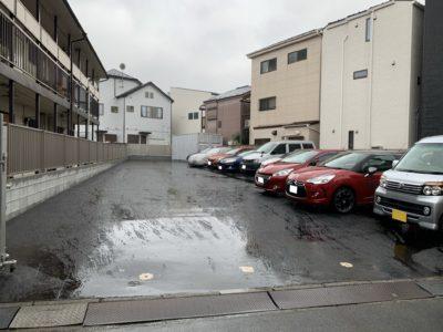 駐車場の床完成!